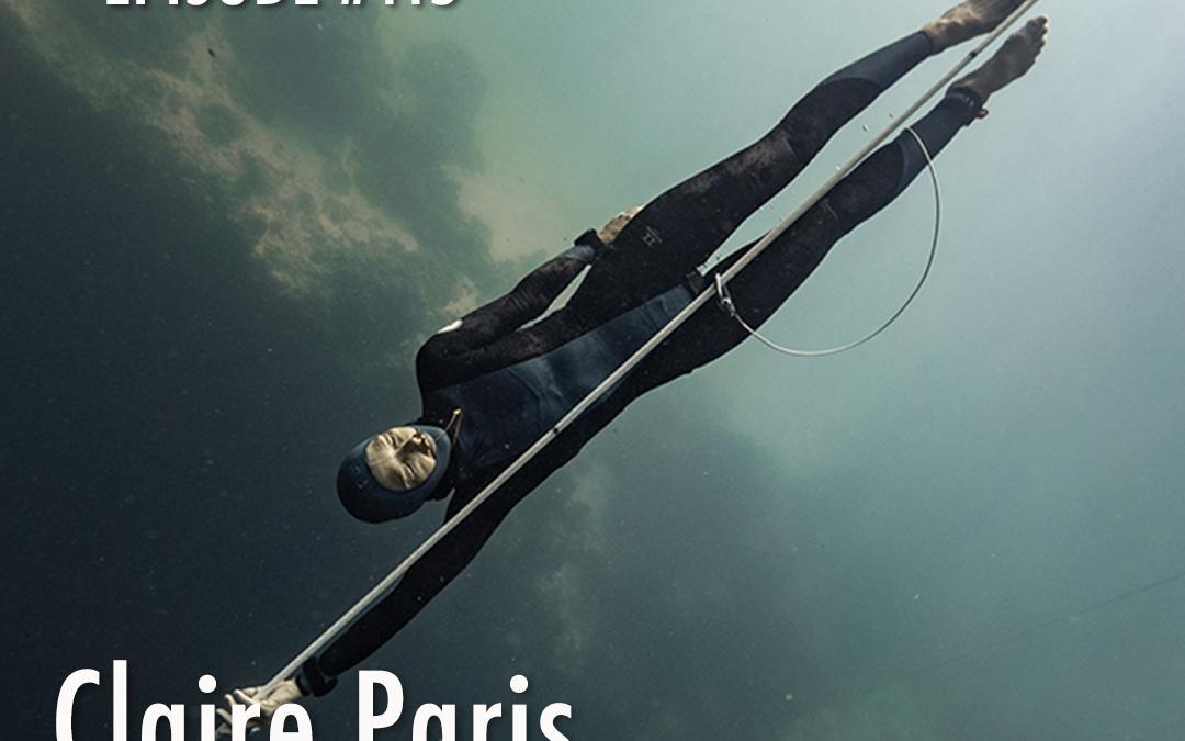 #115 – Claire Paris | Freediving for Science